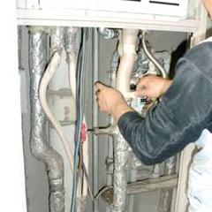 各配管の保温工事-①